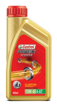 OLI MOTOR MATIC CASTROL POWER 1 ONE 0,8L GARANSI ORIGINAL