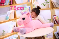 Boneka Unicorn Pink Import kode BU0026 UK 75cm