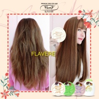 HAIR MASK HONEY MILK FLAVERE / MASKER RAMBUT SUSU MADU BPOM RESMI