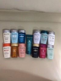 kerastase shampo travel size80ml(prevention,divalent,vital,anti pelli)