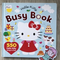 Hello Kitty Busy Book | Activity book | big bad wolf
