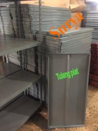 Plat besi siku lubang / ambalan / shelfing (50x100)