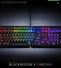 Keyboard Razer Blackwidow x Chroma Tournament Edition