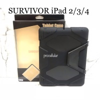 Griffin Survivor Cover iPad 2 3 4 Case Casing Soft Hard Full Protect