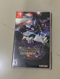 Monster Hunter Generation Ultimate Nintendo Switch New