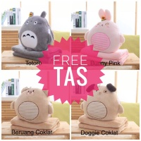 balmut bonmut rabbit,doggy,bear dan totoro