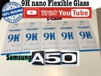 Nano Glass Samsung A50 - Soft Tempered glass flexible samsung a50 ori