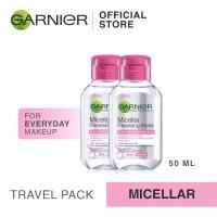 Garnier Micellar Pink Cleansing Water 50ml - Mini Travel Pack