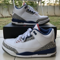 NIKE AIR JORDAN 3 RETRO OG TRUE BLUE ORIGINAL