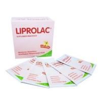 PROBIOTIK dan PREBIOTIK LIPROLAC (30 SACHET) - SUPLEMEN PENCERNAAN