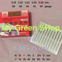 Huanqiu Super ukuran 0.30x25 1 cun