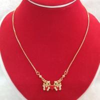 Kalung Anak Hello Kitty Terbaru Emas Imitasi Kalung Lucu Perhiasan