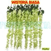 Wisteria Plastik /Daun Rambat/Rumput Plastik/Busa Gabus / Floral Foam