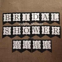 Bunting Flag / Banner / Bendera Bridal Shower Murah