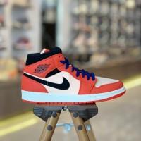 Nike Air Jordan 1 Mid Team Orange | US 7 - 10