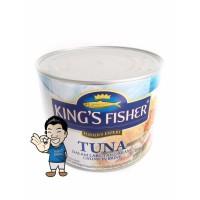 KING'S FISHER ,TUNA KALENG 170G / KALENG , 1 BOX ISI 6 KALENG