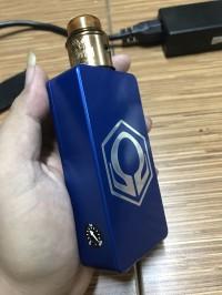 mod hexohm biru / blue v21 garansi vapezoo