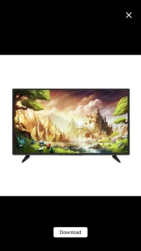 Panasonic 24f305g led tv garansi resmi