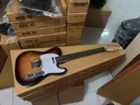 Gitar Fender Telecaster sunbrush PU gnb korea