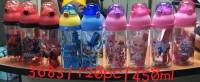 Botol minum 450ml Kitty Doraemon LOL Tsumtsum Pony Cars Frozen. Soveni