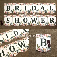 Bunting Flag / Banner / Bendera Bridal Shower Party Pesta Bachelorette