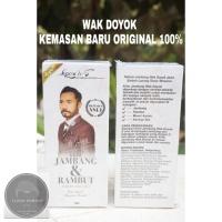 KRIM JAMBANG WAK DOYOK 100% ORIGINAL | PENUMBUH JAMBANG/KUMIS/RAMBUT