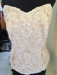 Kemben wedding , bustier wedding , kemben kebaya wedding
