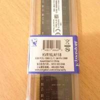 RAM KINGSTON MEMORI GAMING LONGDIMM DDR3 8GB PC 12800