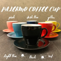 PALERMO Coffee Cup I Cappucino Cup Porcelain I Cangkir Kopi Susu