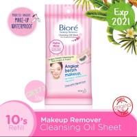 Biore Cleansing Oil Sheet Makeup Remover 10 / Pembersih Make Up