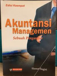 [Preloved] Buku Pengantar Akuntansi Managemen - Slamet Sugiri