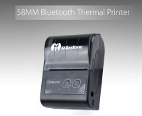 Milestone 58MM Mini Bluetooth Printer Thermal Portable Wireless Receip