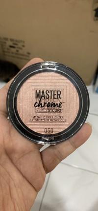 Maybelline Master Chrome 050 Molten Rose