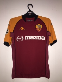 Jersey AS Roma UCL 2002-2003 Excellent - MEDIUM