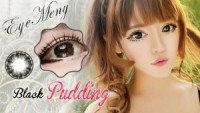 Eyemeny Softlens Pudding - Black