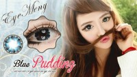 Eyemeny Softlens Pudding - Blue