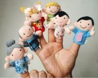 Boneka Jari Family/ keluarga