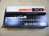 Pen - Boxy - Uniball UB-105 (Per dozen = 12 pieces)