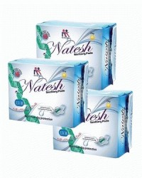 Natesh Sanitary Pad day with magnetic