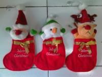 Boneka Kaos Kaki - Santa,Snowman,Rudolf
