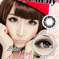 Softlens Eyemeny Pudding Black (Hitam)