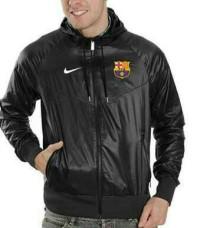 Jaket Parasut Bola Barcelona