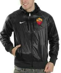 Jaket Parasut Bola As Roma