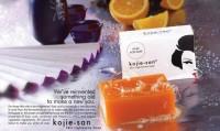 kojie san soap 65 gr sabun kojic acid 65gr skin light 100% Original