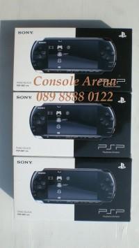 Paket New PSP 3000 Slim + 32GB Full Games + Tas + Anti Gores