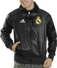 Jaket Parasut Bola Real Madrid