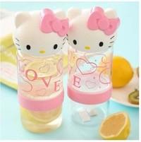 Botol Citrus Zinger Kepala Juicer Juice Extractor Alat Perasan Buah Jeruk Lemon Infuse Water Karakter Hello Kitty Helo Kity HK
