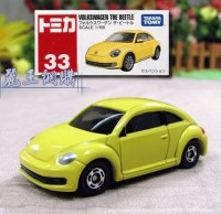 TOMICA 33 VW THE BEETLE KUNING