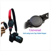 Lens Cap Keeper Holder Buckle for 43mm/52mm/55mm
