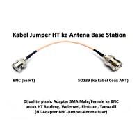Jumper Kabel HT ke Antena Luar